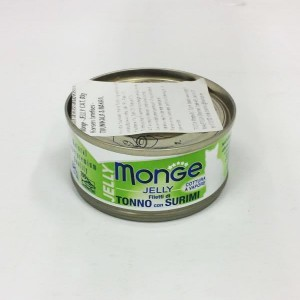 Monge Cat Jelly Tuna & Surimi 80 g