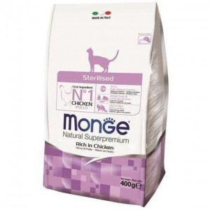 MONGE CAT Sterilized 400g
