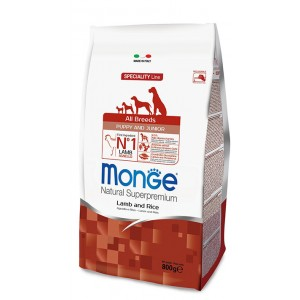 MONGE DOG AB LAMB&RICE puppy 2,5 kg