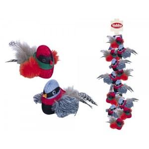 """Nobby Cat toy """"bird"""" 12cm"""