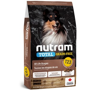 Nutram T23 Total Grain Free Chicken & Turkey Dog Food 13,6kg