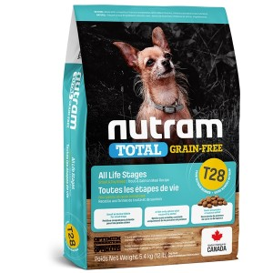 Nutram T28 Total Grain Free Small Breed Salmon & Trout Dog Food 2,72kg