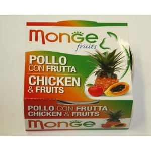 MONGE FRUIT CAT  chicken & fruit 80 g