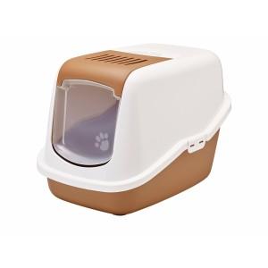Savic Cat Toile NESTOR white/brown