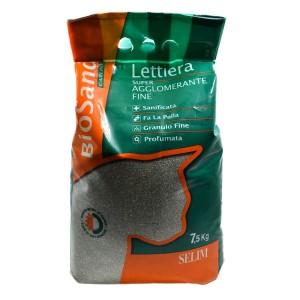 Selim BIOSAND Cat Litter 7,5 kg/green