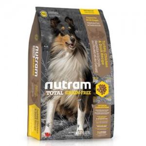 Nutram T23 Total Grain Free Chicken & Turkey Dog Food 2,72kg