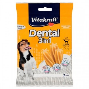 Vitakraft DENTAL STICKS 3in1 s120g