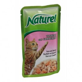 Life Cat Naturel tuunik&krevett 55g kott