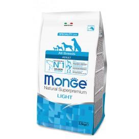 MONGE DOG AB Lõhe&riis light 2,5kg