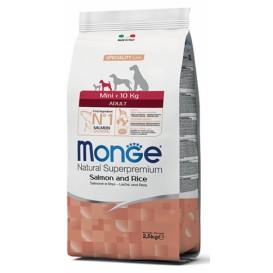 MONGE MINI AD Lõhe/Riis koeratoit 7,5kg