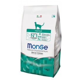 MONGE CAT HAIRBALL kassitoit 1,5kg