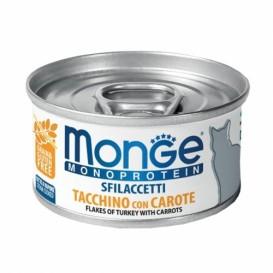 MONGE Mono aurutatud KALKUN&PORGAND 80g