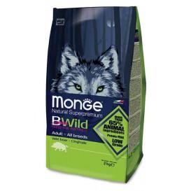 MONGE BWILD koeratoit metssealihaga 2kg