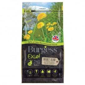 Burgess NATURES BLEND jänesetoit 1,5kg