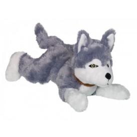 Nobby koeralelu HUSKY plüüs häälega 35cm