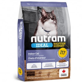Nutram I17 IDEAL INDOOR kassitoit 6,8 kg