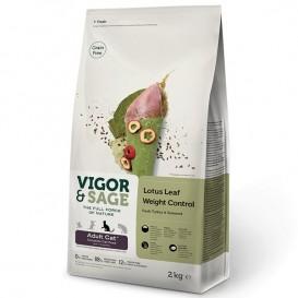V&S Lotus Leaf Indoor STERILIZED CAT 2kg