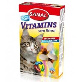 Sanal CAT SUHKRUVABAD VITAMIINID 50g