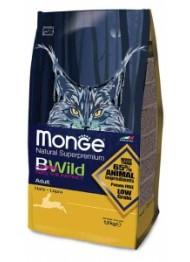MONGE CAT BWILD jänes kassitoit 1,5kg