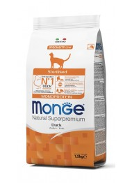 MONGE STERILISED CAT MONOPROT. PART1,5kg