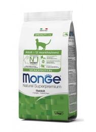 MONGE ADULT CAT MONOPROT. JÄNES 1,5kg