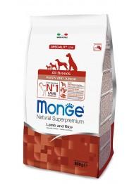 MONGE DOG AB Lamm&Riis KUTSIKATOIT 0,8kg