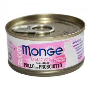 MONGE Delic. Cat Kana & Sink 80g