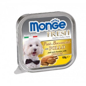 MONGE Fresh DOG Kana 100g