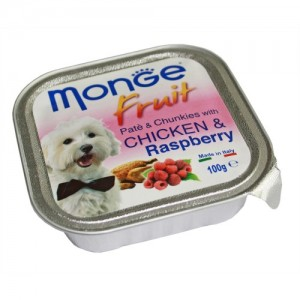 MONGE FRUIT DOG Kana/vaarikas 100g