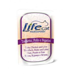 Life Cat tuunikala,kana ja maks 70g kott