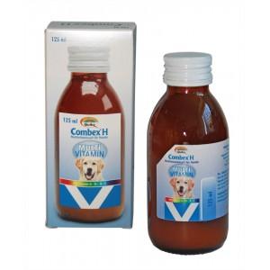 QUIKO COMBEX H multivit. koerale 125 ml