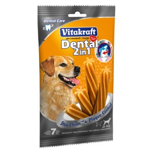 Vitakraft DENTAL 2in1 medium 7tk/180g