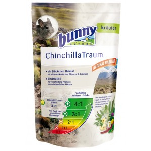 Bunny CHINCHILLA DREAM põhitoit 1,2 kg