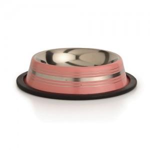 IPTS Metallist kauss kummiäärega roosa11