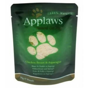 APPLAWS Chicken&Asparagus kass 70g
