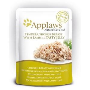 APPLAWS Yelly Chicken&Lamb kass 70g