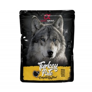AlphaSpirit DOG KALKUNIPASTEET 300g