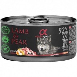 AlphaSpirit DOG LAMMAS & PIRN 150g