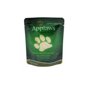 APPLAWS Chicken&Asparagus kass 70g