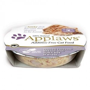 APPLAWS Chicken Breast & Tuna kass 60g