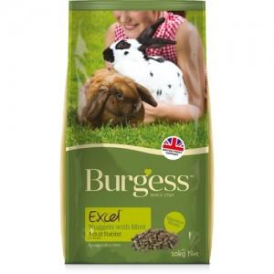 Burgess EXC MINT mündiga JÄNESETOIT 2kg