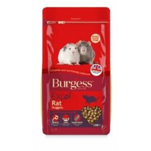 Burgess EXC RAT NUGGITS ROTITOIT 1,5 kg