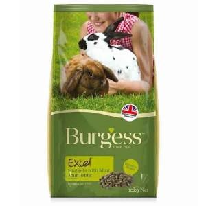 Burgess EXC MINT mündiga jänesetoit 1kg