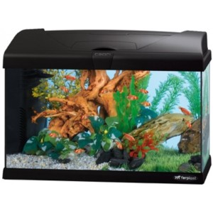 FP. AKVAARIUM 50L LED Must
