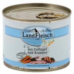 Landfleisch Krevetid & Linnuliha konserv