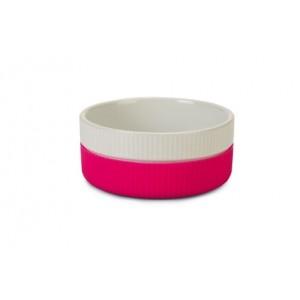 IPTS Sööginõu keraamika roosa 11cm