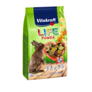 Vitakraft LIFE POWER JÄNESETOIT 600g