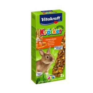 Vitakraft Kräcker JÄNES mesi&spelta 112g