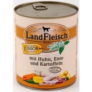Landfleisch JUNIOR Kana,Part&Köögiv 800g