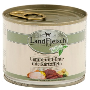 Landfleisch Dog Lammas & & Part 195 g